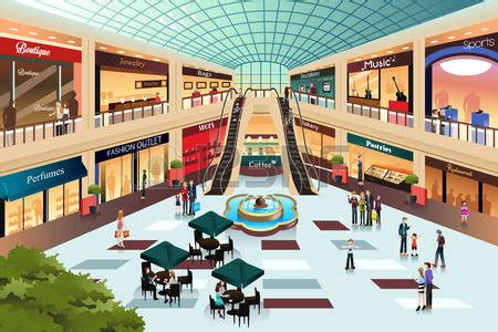 bid or buy shopping outside clipart shopping centre pencil and in color