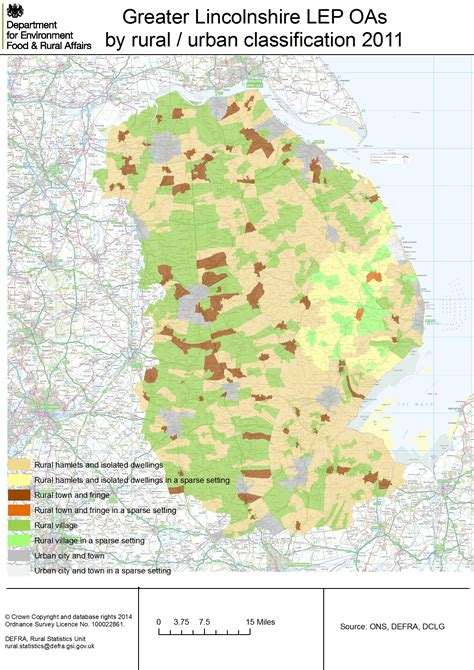 map of greater local enterprise partnership detailed rural maps
