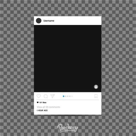 instagram frame template instagram photo frame template peecheey