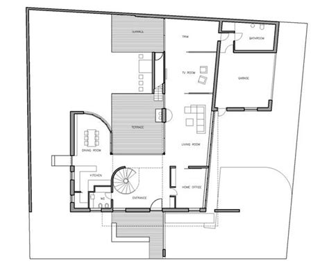 floor plan of modern family house modern family home k17 by dar612 floor plan планировки