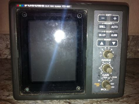 Jual Fish Finder Furuno by Furuno Fcv 667 Fish Finder For Sale The Hull