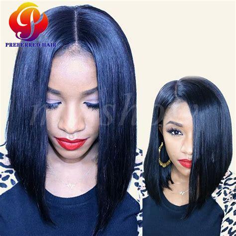 weaves for white women short short bob wigs for black women lace front wigs for white