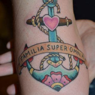 above all tattoo my new family above all things i
