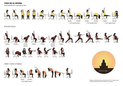 imagenes de yoga en silla taller de yoga para la oficina videos fotos y rutinas