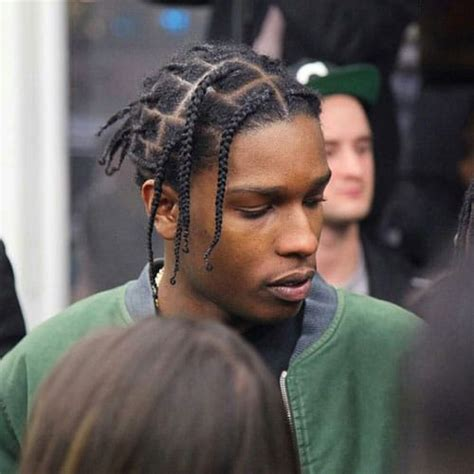 asap rocky hair asap rocky braids men s hairstyles haircuts 2017