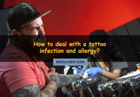 how to treat tattoo infection pics how to treat an infected and