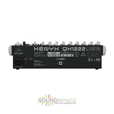 Sale Mixer Behringer Xenyx Qx 1222 Usb 12 Channel ม กเซอร behringer xenyx qx1222 usb mixer soundspacethai