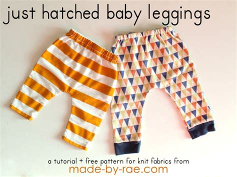 baby leggings pattern to sew sewing for baby knit baby leggings made by rae