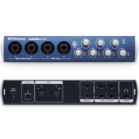 Audiobox Usb presonus audiobox 44vsl usb audio interface