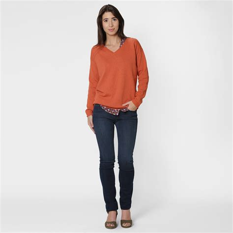 Wst 5617 V Neck Dress six ten cotton v neck sweater womens apparel at vickerey