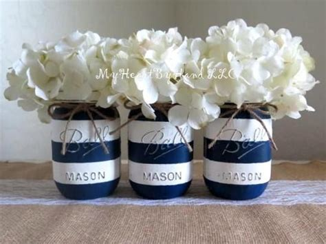 nautical baby shower centerpiece navy blue and by