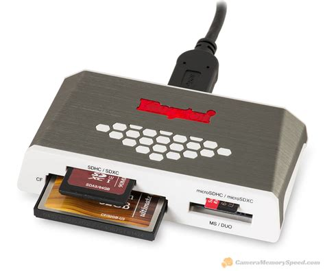 Card Reader Memory Cf review kingston card reader fcr hs4 uhs ii sd microsd cf