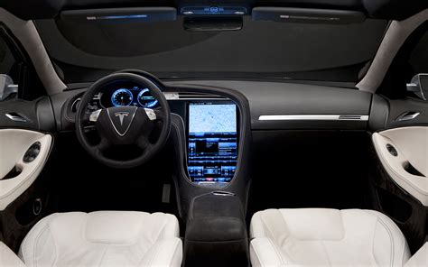 Tesla S Model Interior by Ride 2012 Tesla Model S Photo Gallery Motor Trend