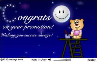i congratulate you heartily for your promotion greeting