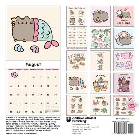 Photo Calendars Pusheen The Cat Wall Calendar 9781449478698 Calendars