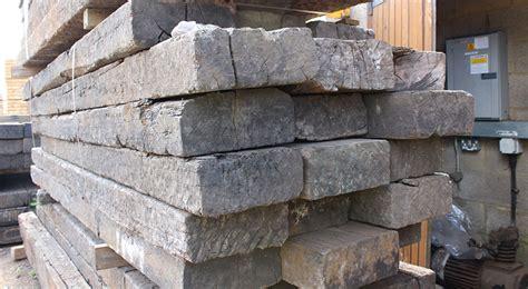 Untreated Reclaimed Railway Sleepers by Reclaimed Wood Solid Oak Flooring And Oak Flooring