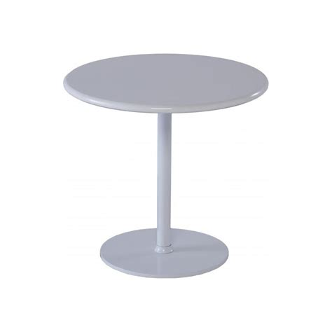 Small White Side Table Buy Gillmore Space Circular Gloss White Side Table From Fusion Living