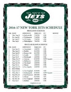 printable 2016 2017 new york jets schedule