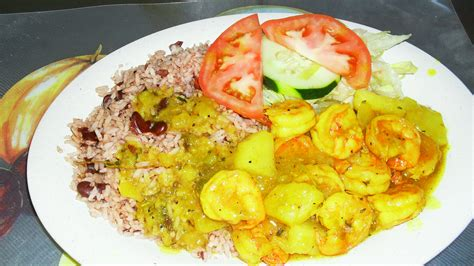 Curried Shrimp by Jamaican Style Curry Shrimp