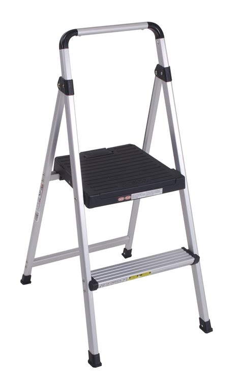 Cosco 2 Step All Aluminum Step Stool by Cosco 11 628abk4 Lite Solutions Aluminum Frame Step Ladder
