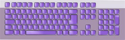 purple keyboard clip art  clkercom vector clip art