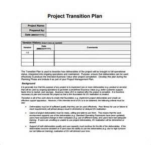 Project Manager Email Templates by Transition Plan Template Free Word Excel Pdf Documents