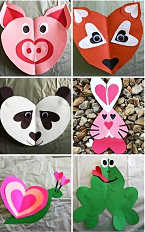 printable valentine animal crafts valentine animal crafts craftshady craftshady