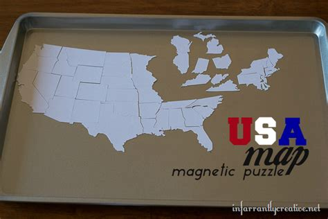 usa magnetic puzzle map magnetic usa map puzzle