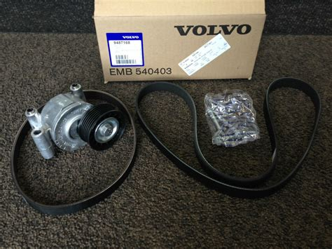 genuine volvo auxiliary  belt tensioner kit  petrol      ebay