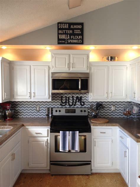 Kitchen Cabinet Liner by Shelf Liner Backsplash This Would Be In Our Base