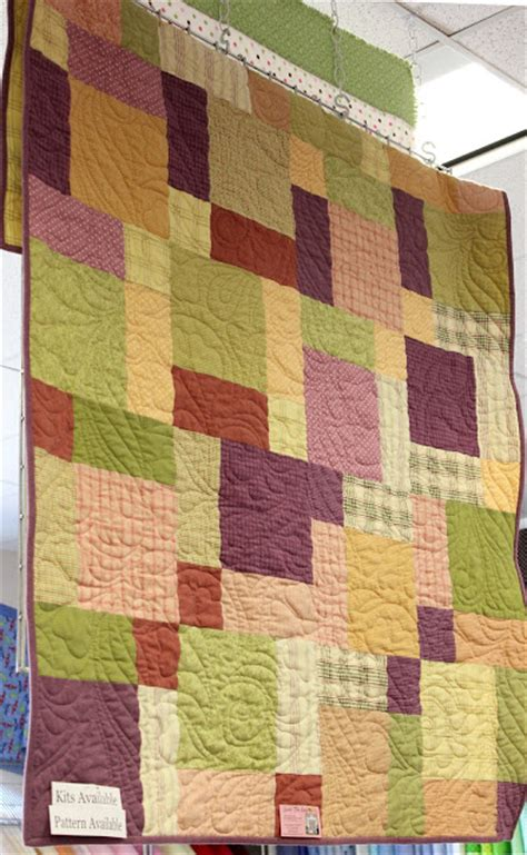 Split Nine Patch Quilt Pattern by Fabric Mill September 2012