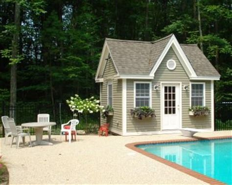 Pool Houses And Sheds by Pool Shed For The Home