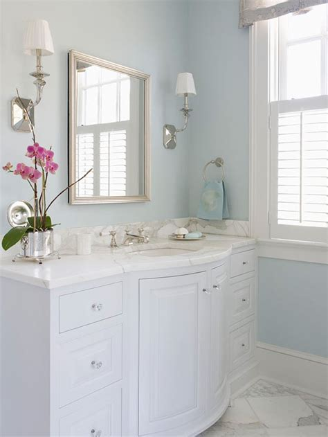 Bow Front Bathroom Vanity by Bow Front Vanity Traditional Bathroom Bhg