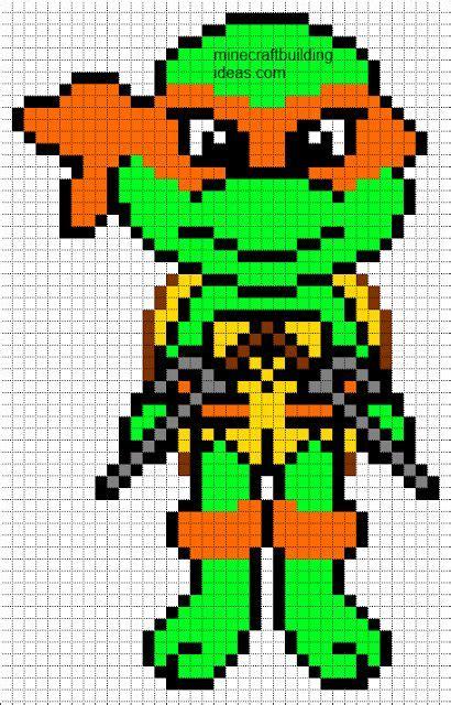 pixel template maker minecraft pixel templates mutant turtle