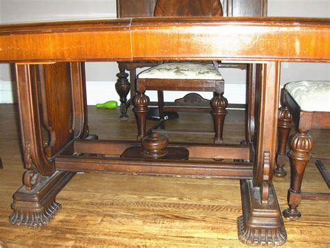 woodworkers company jefferson woodworking company table and 5 chairs antique
