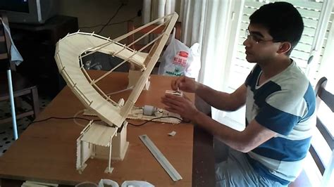 puentes hechos de palillos de elados puente de palitos de helado a motor wisconsin youtube