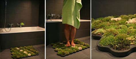 Moss Bathroom Mat By Nection Design Moss Rug For Bathroom