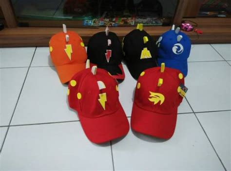 Topi Anak Boboiboy Api Blaze Topi Anak Laki Laki jual topi boboiboy set murah diyanaksa shop