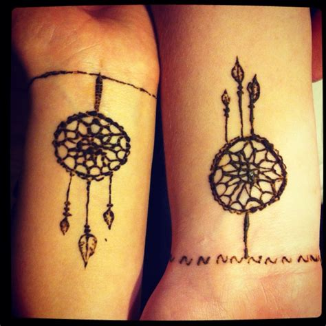 henna friendship tattoos 25 best ideas about catcher henna on