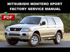 2001 Mitsubishi Montero Sport Repair Manual Mitsubishi 2000 2001 2002 2003 2004 Montero Sport Steering