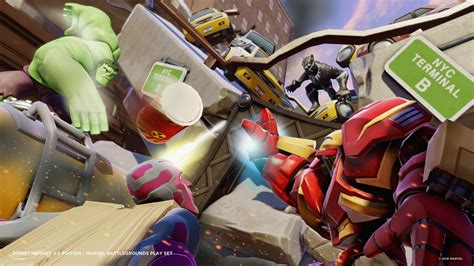 Infinity 3 Marvel Disney Infinity 3 0 Marvel Battlegrounds Play Set Launched
