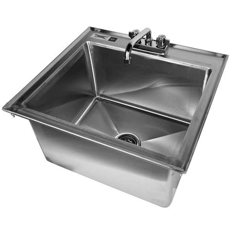 16 stainless steel drop in kitchen sink nantucket sinks 16 stainless steel rectangle