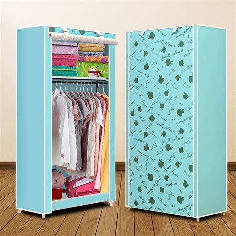 031427 simple using foldable non woven wardrobes cheap