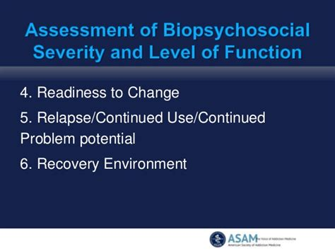 Asam Criteria For Ambulatory Detox by What S New In The Asam Criteria
