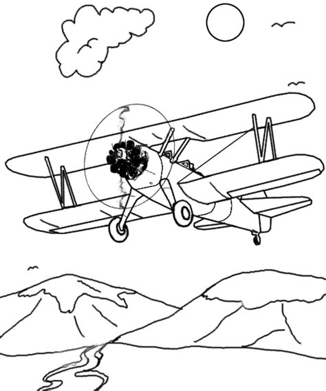airplane coloring pages free printable pictures coloring