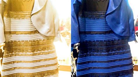 Original Blue Black 15 black and blue or white and gold dress original picture