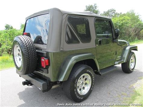 2006 Jeep Wrangler Soft Top 2006 Jeep Wrangler X 4x4 Road Soft Top 2dr Suv