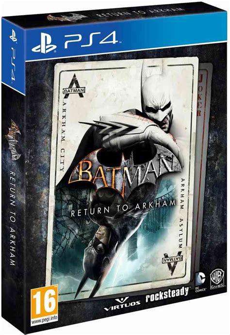 Ps4 Batman Return To Arkham Asylum batman return to arkham ps4 kopen