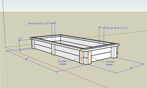 diy planter box plans plans free