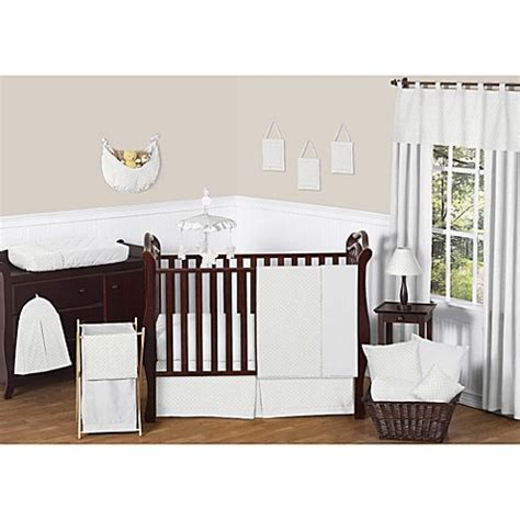 Jojo Design Crib Bedding Sweet Jojo Designs Minky Dot Crib Bedding Collection In White Bed Bath Beyond